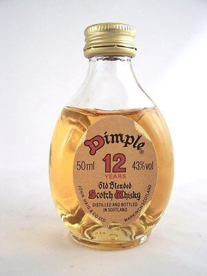Miniature circa 1983 JOHN HAIG DIMPLE 12yo Isle of Wine