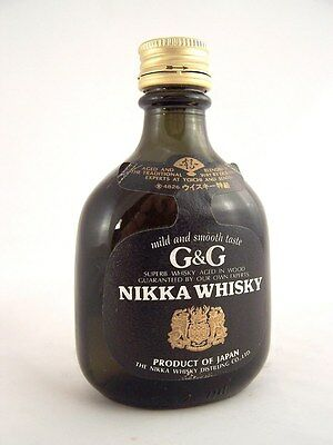 Miniature circa 1979 NIKKA G&G Japanese Whisky Isle of Wine