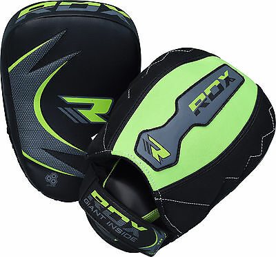 RDX Boxing Pads Mitts Fight Gloves Target Focus Punch Muay Kick MMA Training