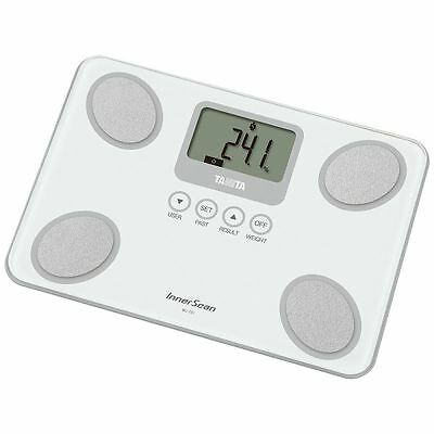 Tanita BC731WH White InnerScan Body Composition Monitor Scale