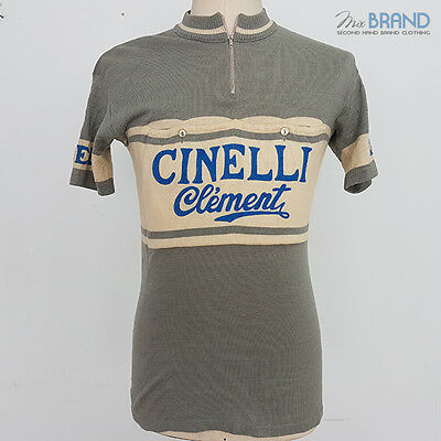 maglia,camiseta bici shirt cycling maillot ciclismo eroica Cinelli Clement Lana