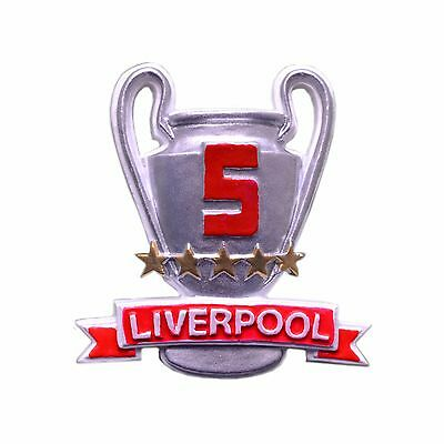 5 Stars On The Cup Fridge Magnet Liverpool
