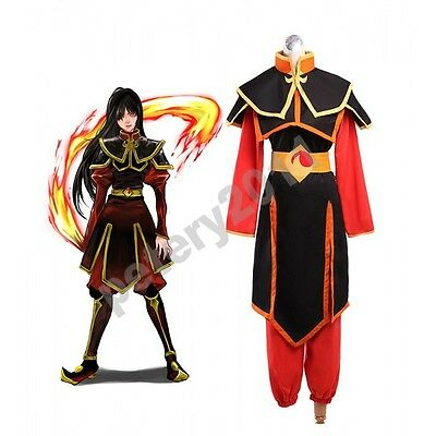 Custom-made Avatar The Last Airbender Azula Cosplay Costume Halloween