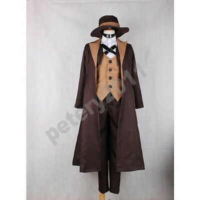 Custom-made Bungou Stray Dogs Chuya Nakahara Cosplay Costume