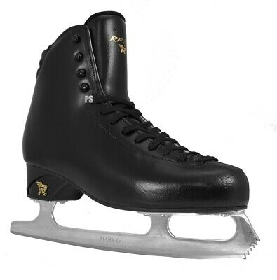 Risport RF Light Mens Black Figure Skates - Senior + Free Blade Guards
