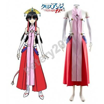 Custom-made Cross Ange Rondo of Angels and Dragons Salamandinay Cosplay Costume