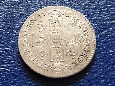 Great Britain - Charles 11 Silver Sixpence 1679 - Rare Date