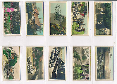 Cavanders Camera Studies 1926 Small Size Individual Cards