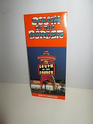 South Of The Border Attraction Carolina Older Brochure Pamphlet 5 Mileage Charts