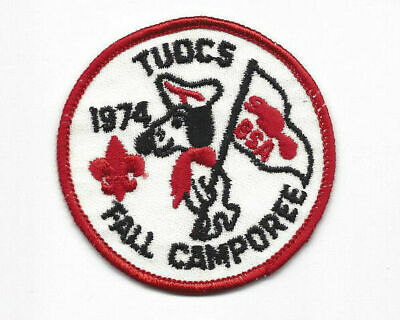 Occoneechee Council Tuocs District 1992 Fall Camporee Green bdr. OTT289