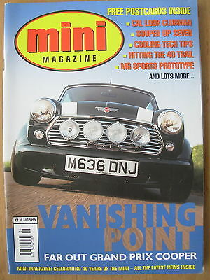 Mini Magazine August 1999 With Free Postcards