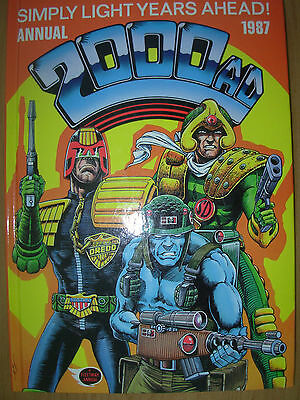 2000Ad Annual 1987 Fleetway Not Price Clipped
