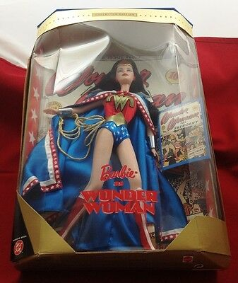 1999 Mattel Dc Comics Barbie as Wonder Woman Doll 24638