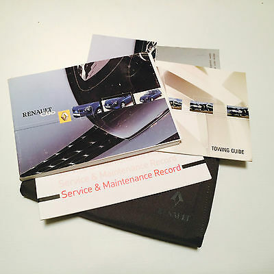 Renault Clio  Handbook Service Book & Wallet Pack  1999 To 2006