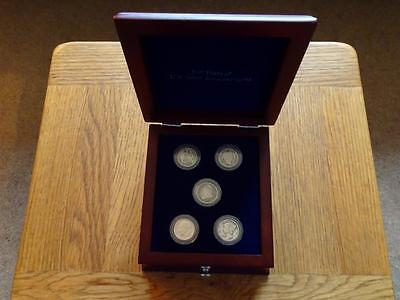 United States Dime Collection 150 Years Of Us 10 Cents 1837 1888 1913 In Case