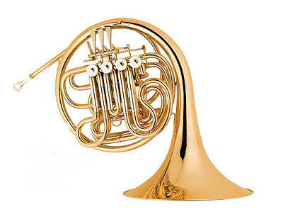Brand New FRENCH HORN Full Double Bb/F One-Piece Bell School Demo Fully Serviced