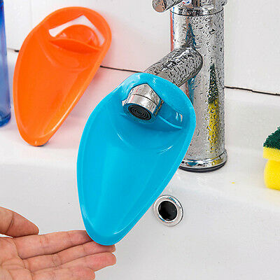 Silicone Bathroom Faucet Extender Sink Handle Extender For Children  Washing WE