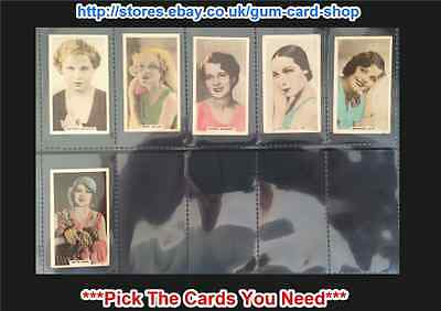 ☆ Cavanders - Cinema Stars 1934 (G/F) *Pick The Cards You Need*