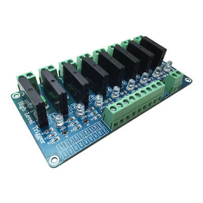 New 8 Channel 5V Solid State Relay Module Board.OMRON SSR 4 for Arduino