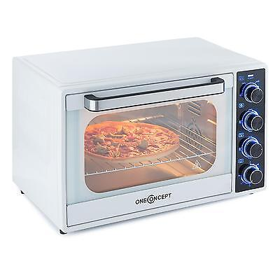 1700 W 35 L Mini Electric Oven Kitchen Grill Baking White Counter Top Compact