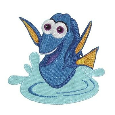 Disney Dory Swimming Embroidered Motif