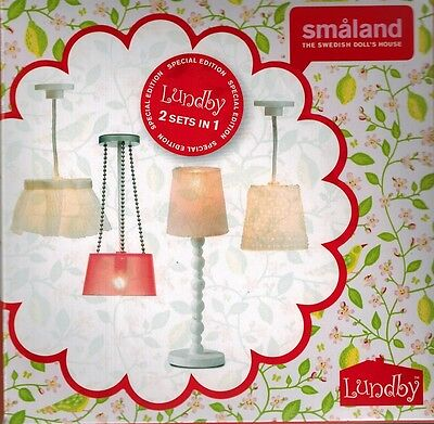Lundby 60.6040.99 Smaland Lampen Set - 2 Sets in 1 - 1:18