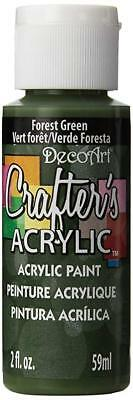 DecoArt Forest Green Crafters Acrylic Paint 2oz
