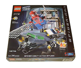 NEW Lego Spider-Man 1376 Action Studios Sealed