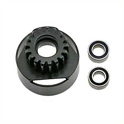 RC Buggy 17 Tooth Nitro Engine Long Clutch Bell w/Bearings  OFNA 10403