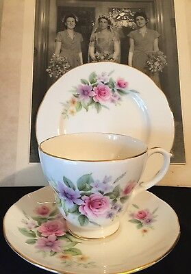 Vintage Cup Saucer Plate Trio Csp For High Afternoon Tea Duchess  England