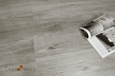 Pine Wood Grey Timber Look Porcelain Floor & Wall Tile 200x1200
