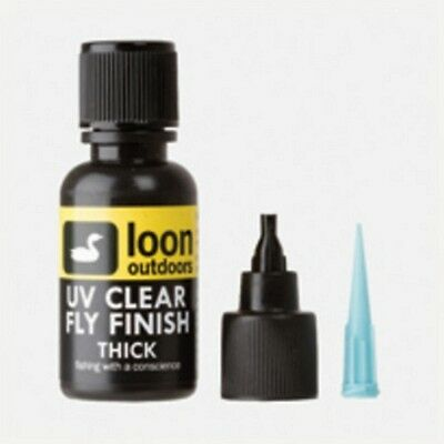 Loon UV Clear Fly Finish THICK 1/2 oz  Fly Tying Material  Fly Fishing