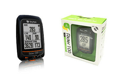 Bryton Rider 100E ANT+ GPS Cycling Wireless Bike Computer with 36 Functions