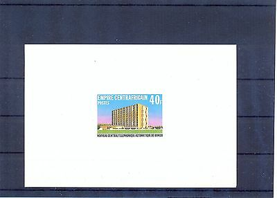 CENTRAL AFRICA 1978 Telecommunications Deluxe Proof VF.