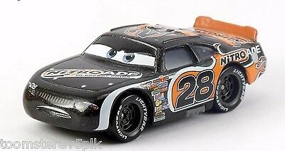 Disney Pixar Cars World Of Cars Nitroade #28 Aiken Axler New But Loose Mattel