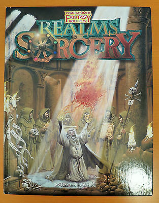 Realms of Sorcery Warhammer Fantasy Roleplay 1st Edition HARDCOVER