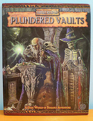 Plundered Vaults Warhammer Fantasy Roleplay 2nd Edition Near Mint