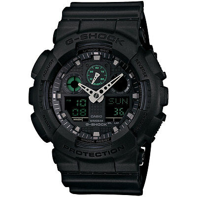 G-Shock Military Black Stealth Series Chronograph. GA100MB-1A G-Shock Bestseller