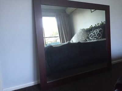 Large, Timber-Framed, Stylish, Quality, Solid Mirror
