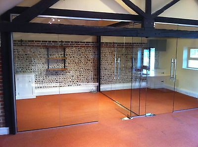 Cheap Glass wall partitions -Office Glass Divides -  Fast & Cheap