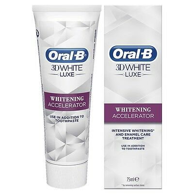 Oral-B 3D White INTENSIVE WHITENING ACCELERATOR Enamel Care Treatment Toothpaste