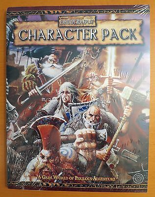 Warhammer Character Pack SEALED - Warhammer Fantasy Roleplay 2nd Edition