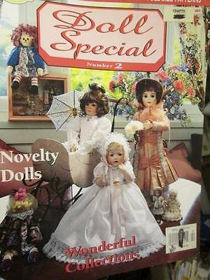 Doll Special Magazine #2-French Bebe Dress/Party Dress/Honeysuckle Crochet Dress