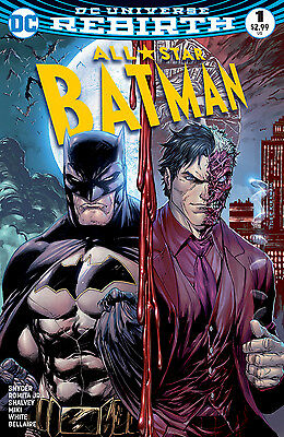 All-Star Batman #1 Midtown Exclusive Kirkham Color Variant Cover. NM DC Rebirth