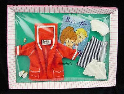 2015 Barbie Convention Mattel Club Gift Resort Set Vintage Outfit Repro Nautical