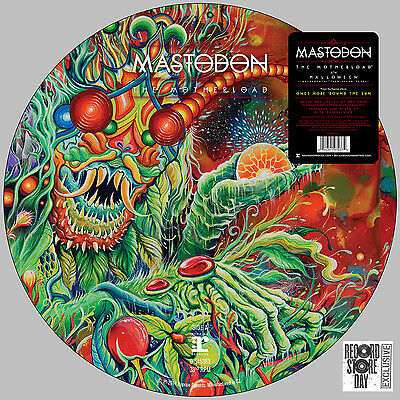 "MASTODON The Motherload / Halloween 12"" Picture Disc NEW Black Friday 2014"