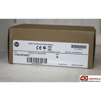 Allen Bradley 1734-EP24DC Point I/O - New Surplus Sealed - Series B