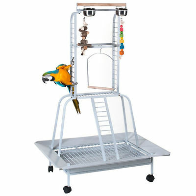 Large Parrot / Bird Play Stand / Activity Gym Rrp $275