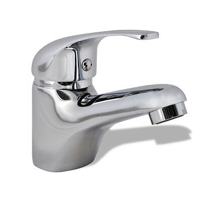 New Basin Mixer Tap Faucet Bathroom Vanity Kitchen Water Spout Brass Sink Chrome