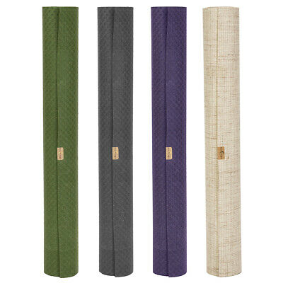The Original ecoYoga Natural Eco Exercise Fitness Gym Yoga Mat - Travel 2mm